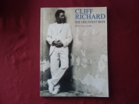 Cliff Richard - His Greatest Hits Songbook Notenbuch Piano Vocal Guitar PVG