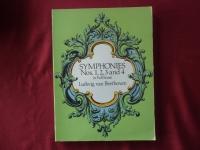Symphonies 1-4 (Beethoven)Songbook Notenbuch für Orchester (Transcribed Scores)