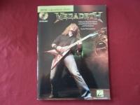 Megadeth - Guitar Signature Licks (mit CD) Songbook Notenbuch Guitar