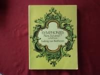 Symphonies 5-7 (Beethoven)Songbook Notenbuch für Orchester (Transcribed Scores)