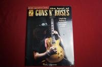 Guns n Roses - Best of (Signature Licks, mit CD) Songbook Notenbuch Guitar