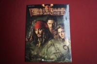 Pirates of the Caribbean Dead Man´s Chest Songbook Notenbuch Piano Solo