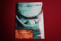 Disturbed - The Sickness Songbook Notenbuch Vocal Guitar Bass