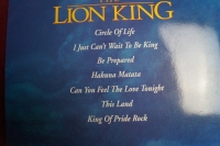 The Lion King Songbook Notenbuch Piano Solos