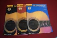 Guitar Method Book 1 & 2 & 3 (mit CDs) (Hal Leonard Guitar Method) Gitarrenbücher
