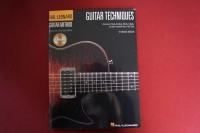 Guitar Techniques (mit CD) (Hal Leonard Guitar Method) Gitarrenbuch