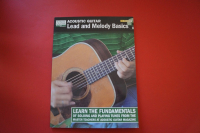 Acoustic Guitar Lead and Melody Basics (mit CD) (Acoustic Guitar Private Lessons) Gitarrenbuch