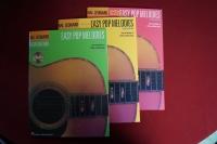 Easy Pop Melodies Book 1 & 2 & 3 (mit CDs) (Hal Leonard Guitar Method) Gitarrenbücher