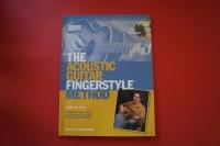 Acoustic Guitar Fingerstyle Method (mit CDs) (Acoustic Guitar Private Lessons) Gitarrenbuch