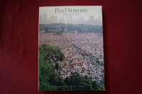 Paul Simon - Concert in the Park Songbook Notenbuch Piano Vocal Guitar PVG