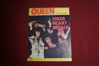 Queen - Sheer Heart Attack Songbook Notenbuch Vocal Guitar