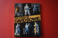 David Bowie - The Songs of (erste Ausgabe)  Songbook Notenbuch Piano Vocal Guitar PVG