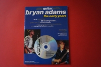 Bryan Adams - Play Guitar with (Early Years, mit CD) Songbook Notenbuch Vocal Guitar