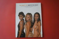 Destiny´s Child - The Best of Songbook Notenbuch Piano Vocal Guitar PVG