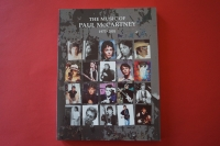 Paul McCartney - The Music of, 1973-2001 Songbook Notenbuch Piano Vocal Guitar PVG