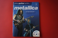 Metallica - Play Guitar with (neuere Ausgabe,mit CD) Songbook Notenbuch Guitar