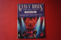 Guns n Roses - For Easy Piano Songbook Notenbuch Vocal Easy Piano