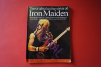 Iron Maiden - Original Guitar Styles of Songbook Notenbuch Guitar