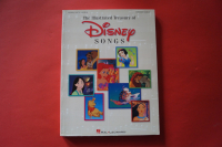 Disney Songs (The Illustrated Treasury of, updated) Songbook Notenbuch Piano Vocal Guitar PVG
