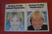 Richard Clayderman - It´s easy to play 1 & 2 Notenbücher Piano