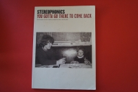 Stereophonics - You gotta go there to come back Songbook Notenbuch Piano Vocal Guitar PVG