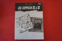Led Zeppelin - III & IV Songbook Notenbuch Vocal Bass
