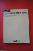 Budget Books: Contemporary Hits Songbook Notenbuch Piano Vocal Guitar PVG