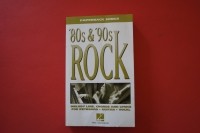 Paperback Songs: 80s & 90s Rock Songbook Notenbuch Keyboard Vocal Guitar