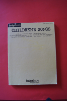 Budget Books: Children´s Songs Songbook Notenbuch Piano Vocal Guitar PVG