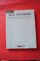 Budget Books: Jazz Standards Songbook Notenbuch Easy Piano Vocal