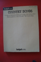 Budget Books: Country Songs Songbook Notenbuch Piano Vocal Guitar PVG