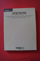 Budget Books: Pop / Rock Songbook Notenbuch Piano Vocal Guitar PVG