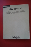 Budget Books: Showtunes Songbook Notenbuch Piano Vocal Guitar PVG