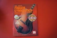 Finger Gymnastics (mit CD)(Mel Bay) Gitarrenbuch