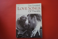 The Greatest Love Songs of the 60s Songbook Notenbuch Piano Vocal Guitar PVG