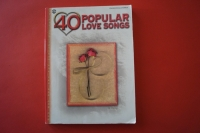 40 Popular Love Songs Songbook Notenbuch Piano Vocal Guitar PVG