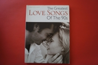 The Greatest Love Songs of the 90s Songbook Notenbuch Piano Vocal Guitar PVG