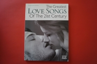 The Greatest Love Songs of the 21st Century Songbook Notenbuch Piano Vocal Guitar PVG