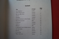 Easy Jazz Favorites Songbook Notenbuch Piano