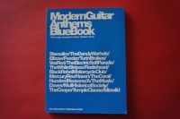 Modern Guitar Anthems: Blue Book Songbook Notenbuch Vocal Guitar