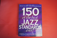 150 of the Best Jazz Standards ever Songbook Notenbuch Piano Vocal Guitar PVG