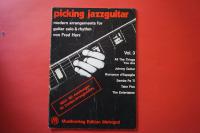 Picking Jazzguitar Volume 3 Songbook Notenbuch Guitar