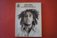 Bob Marley - One Love (Best of, ältere Ausgabe ) Songbook Notenbuch Vocal Guitar