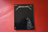 Metallica - Black Album (ältere Ausgabe) Songbook Notenbuch Vocal Guitar