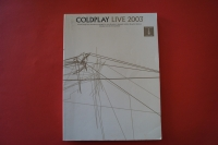 Coldplay - Live 2003 Songbook Notenbuch Vocal Guitar