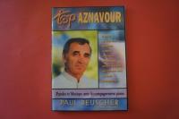 Charles Aznavour - Top Aznavour (ältere Ausgabe) Songbook Notenbuch Piano Vocal Guitar PVG