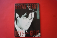 Bryan Ferry - Boys and Girls Songbook Notenbuch Piano Vocal Guitar PVG