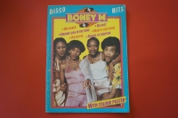 Boney M - Disco Hits (mit Poster) Songbook Notenbuch Piano Vocal Guitar PVG