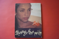 Sade - Stronger than Pride Songbook Notenbuch Piano Vocal Guitar PVG
