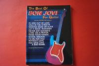 Bon Jovi - Best of for Guitar Songbook Notenbuch Vocal Guitar